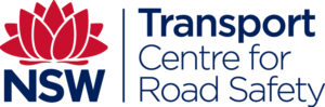 Transport NSW Centre for Road Safety logo